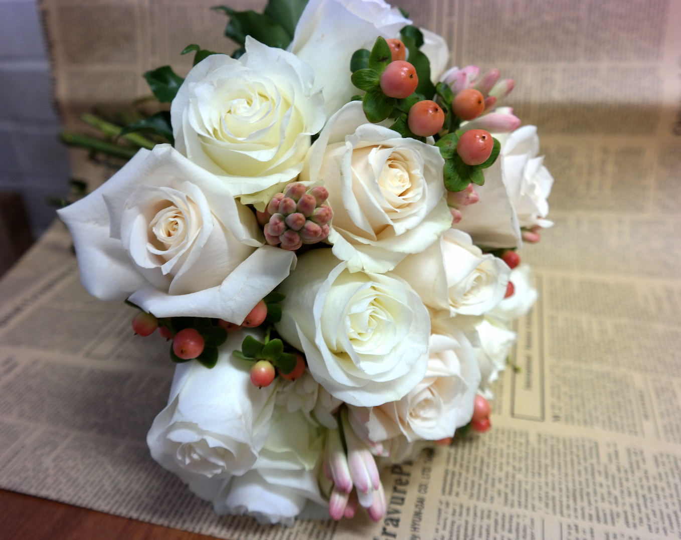 Bride's Rose Bouquet