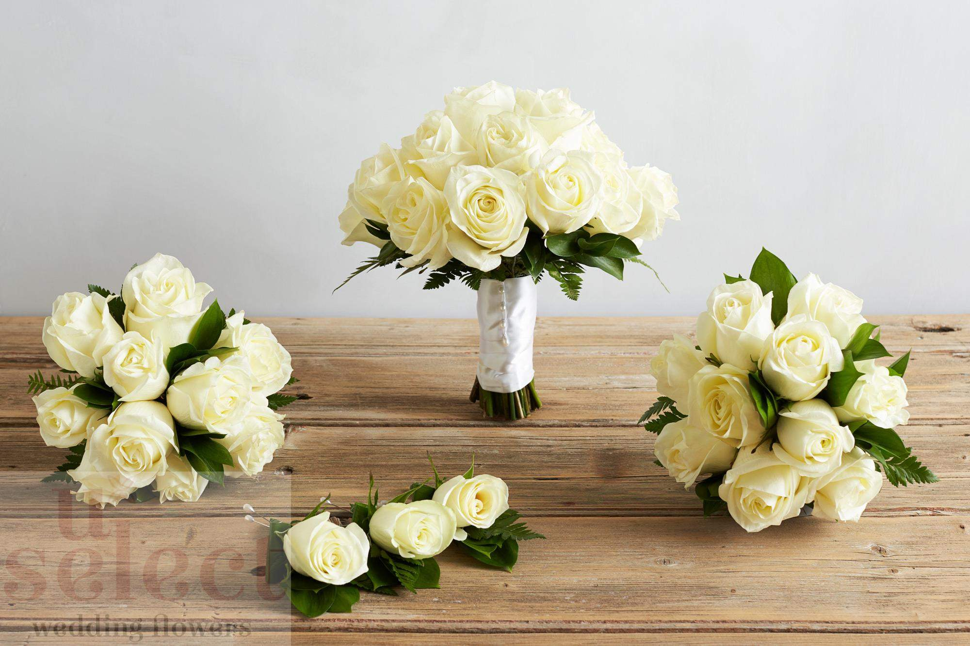 White-Rose-Set