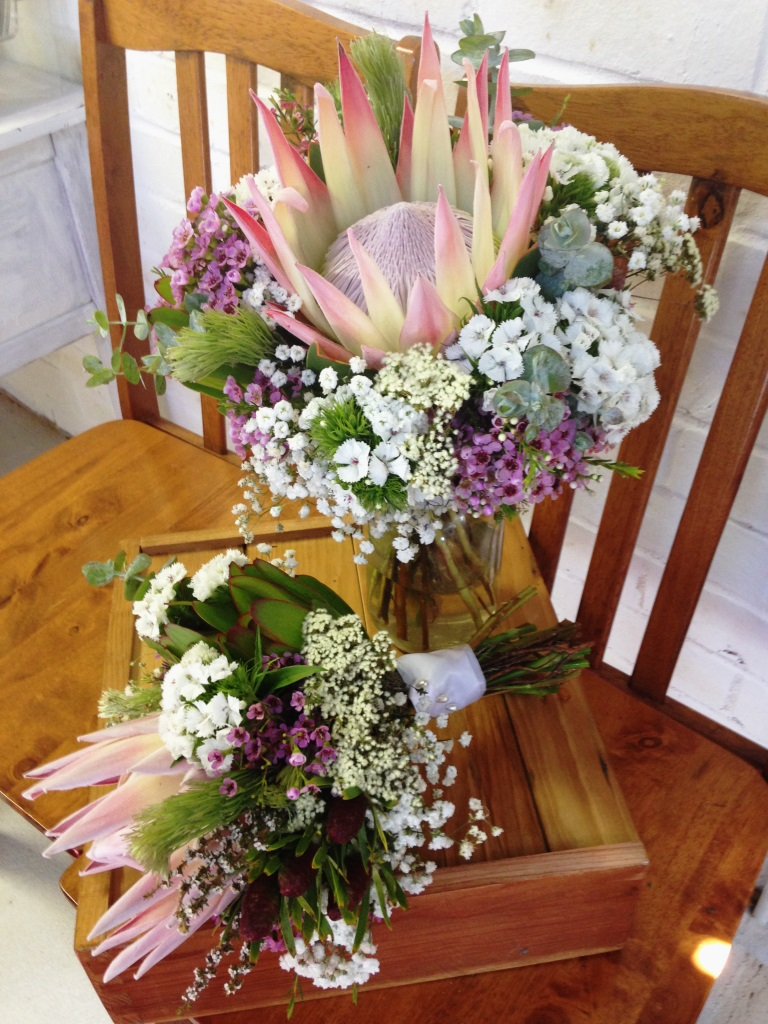 Australian Native Flowers as Wedding Bouquets - Sweet Floral
