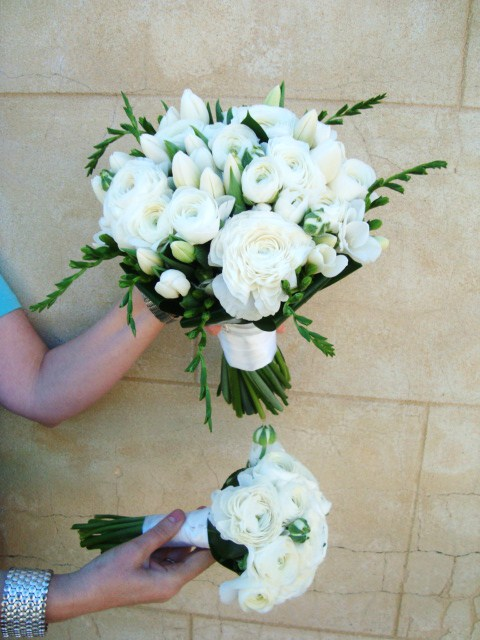 Spring Time White Bridal Flowers